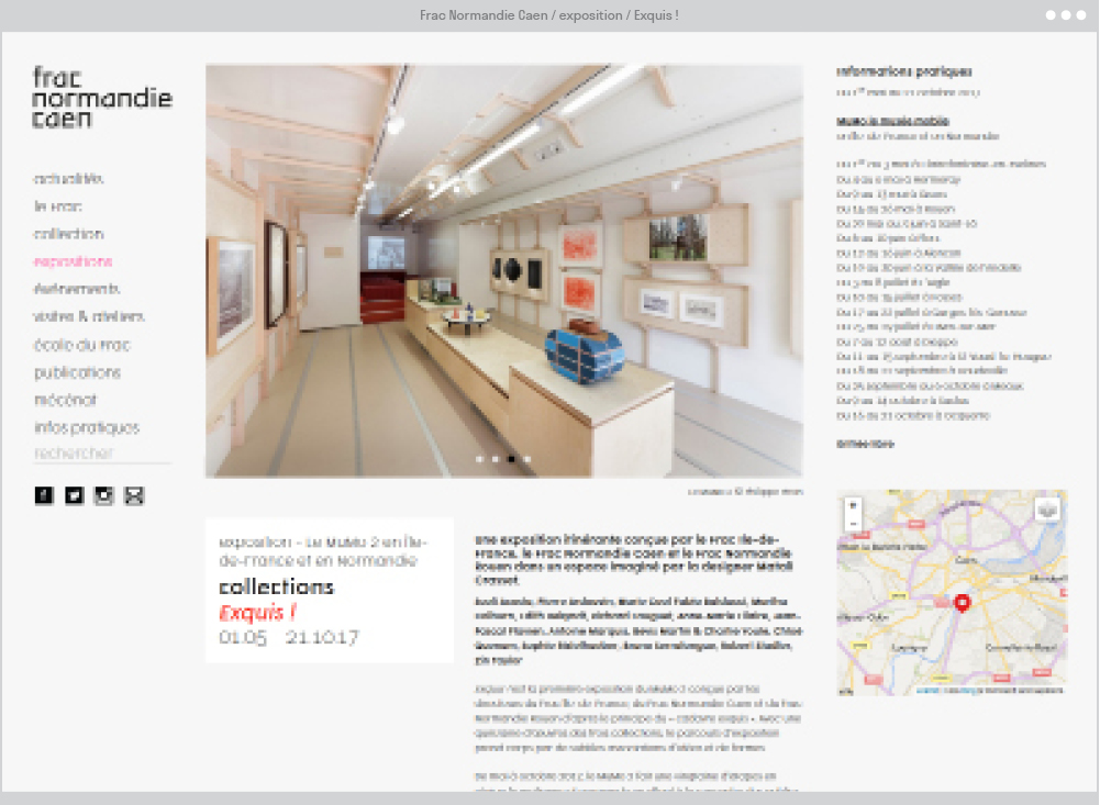 Frac Normandie Caen : article