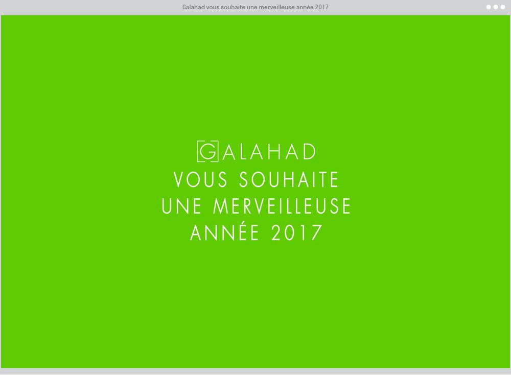 Galahad (Vœux 2016)