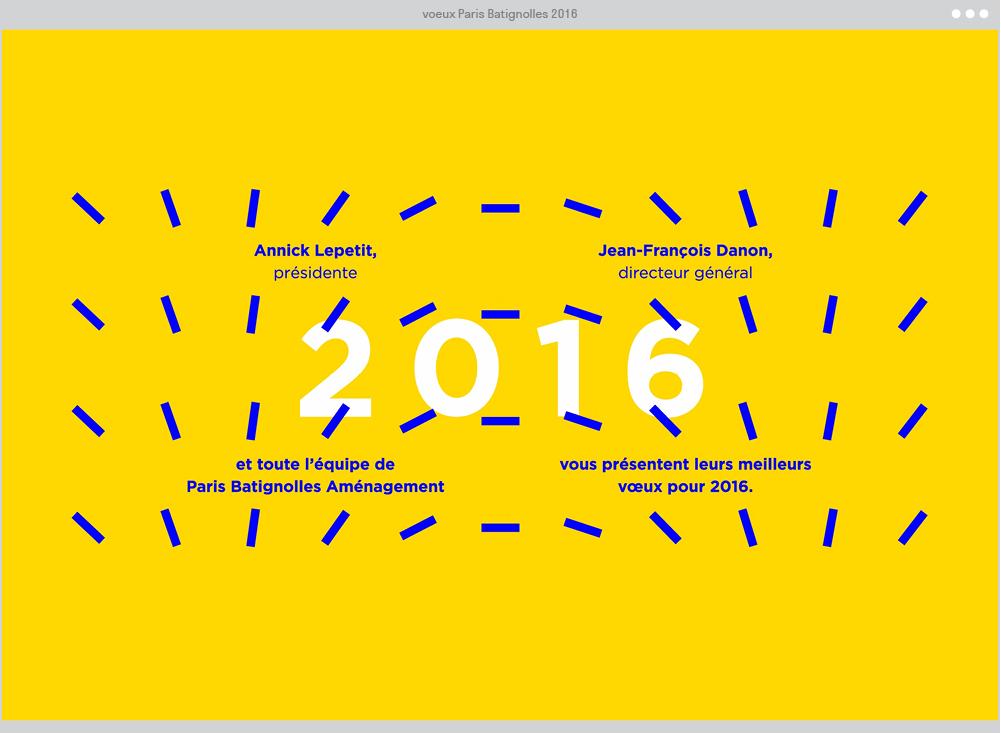 Vœux PBA 2016